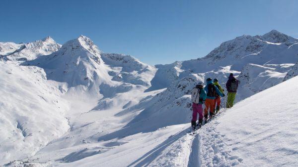 Ski guiding in Sainte Foy