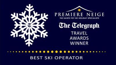 Best Ski Tour Operator award from The Telegraph
