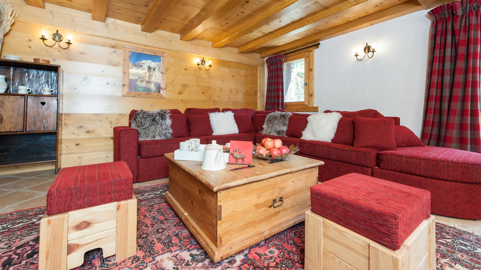 Living Area in Sainte Foy Apt. in Ste Foy