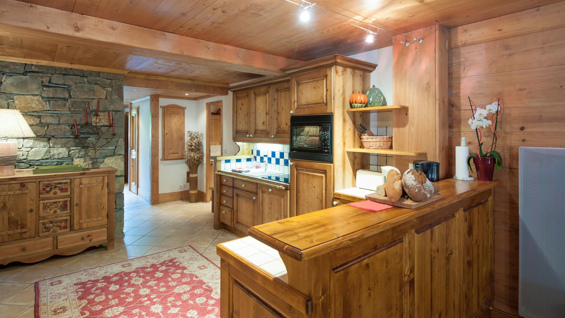 Kitchen in Sainte Foy Apt. in Ste Foy