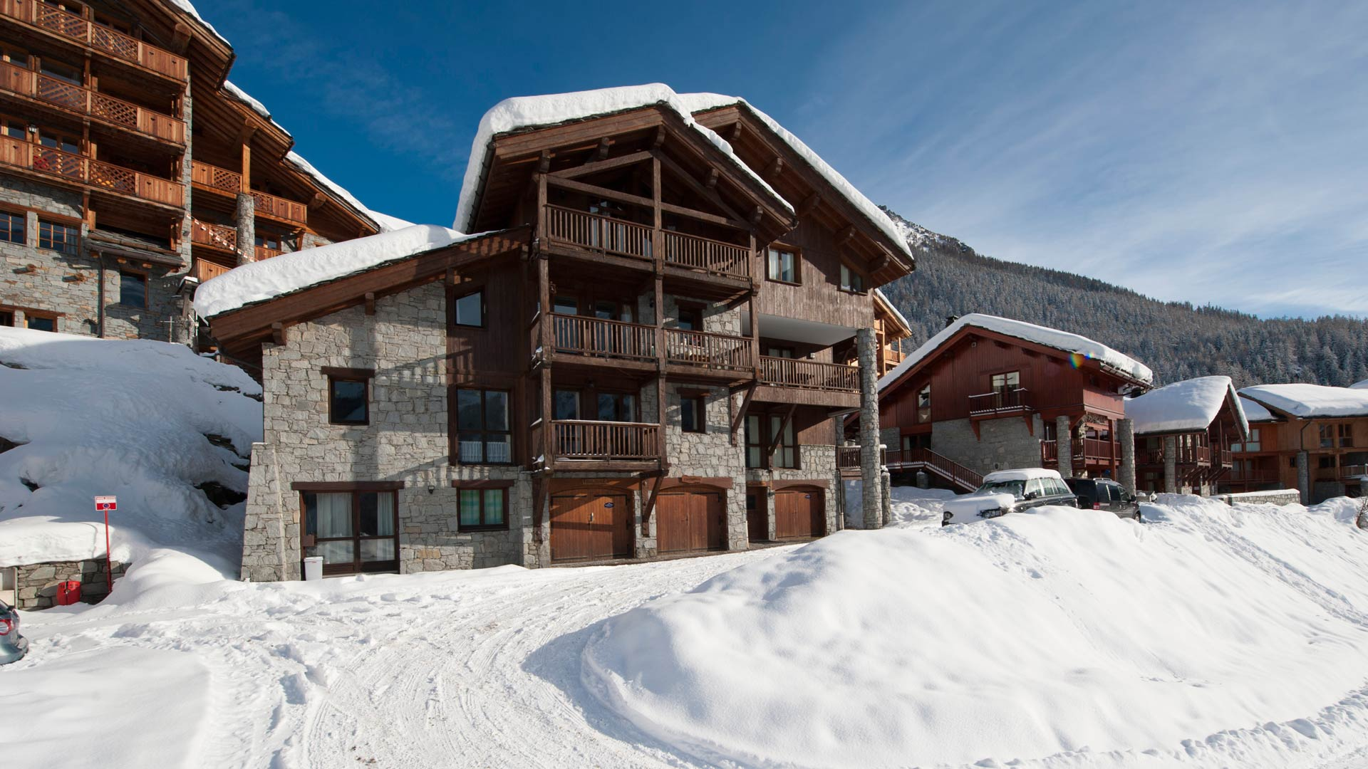 Cheval Blanc Chalet in Ste Foy