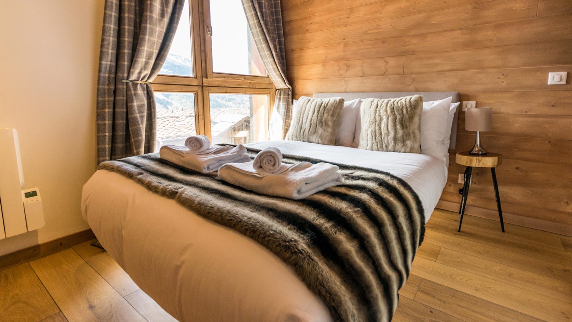 Double Bedroom in Flocon De Neige Apartment in Ste Foy