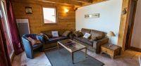 Living are in Genepi Apartment in Sainte Foy