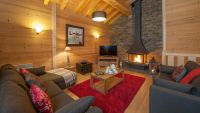 Living Area in Grand Solliet Chalet in Ste Foy