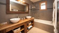 Ensuite Bathroom in Grand Solliet Chalet in Ste Foy