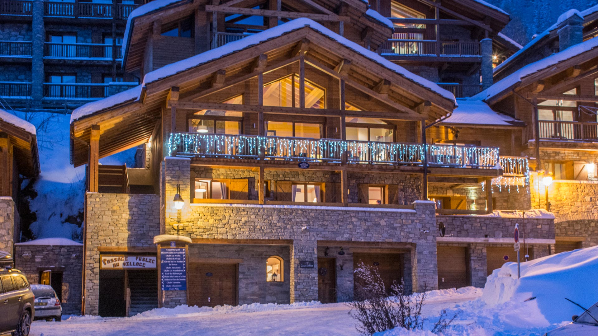 Grand Solliet luxury catered chalet in Sainte Foy