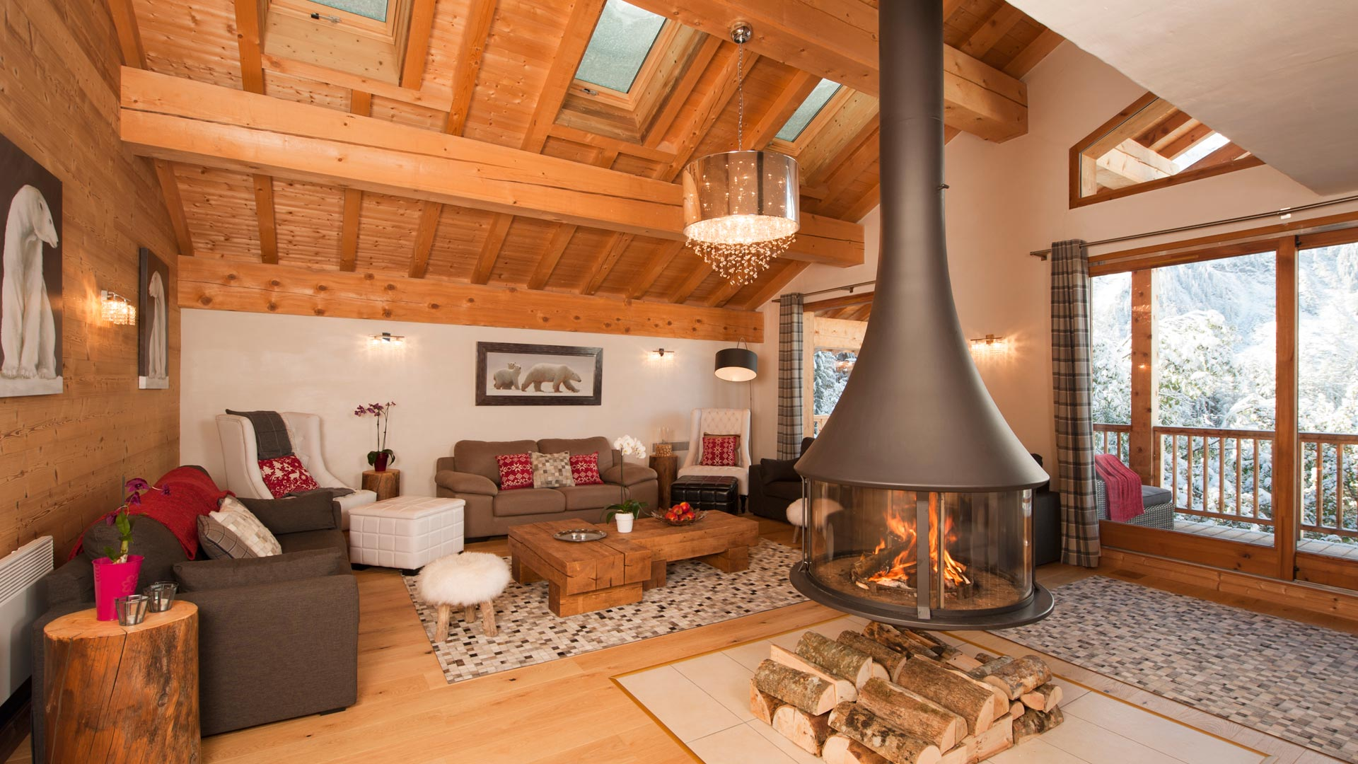 catered chalet Marquise in Sainte Foy
