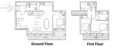 L'Ourse de Savoie Apartment Floor Plan in Ste Foy