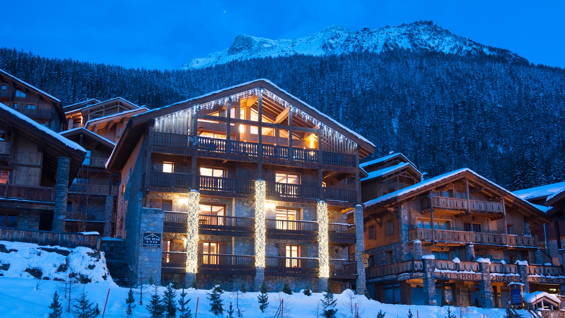 The Peak Luxury catered chalet in Sainte Foy
