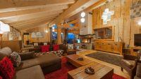 Living Area in The Peak Chalet in Ste Foy