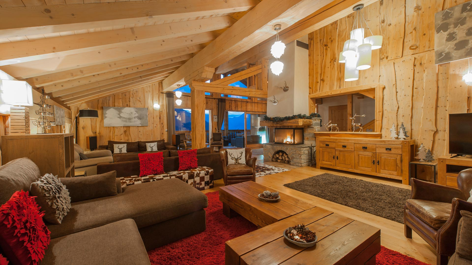 Catered Chalets in Sainte Foy with Premiere Neige