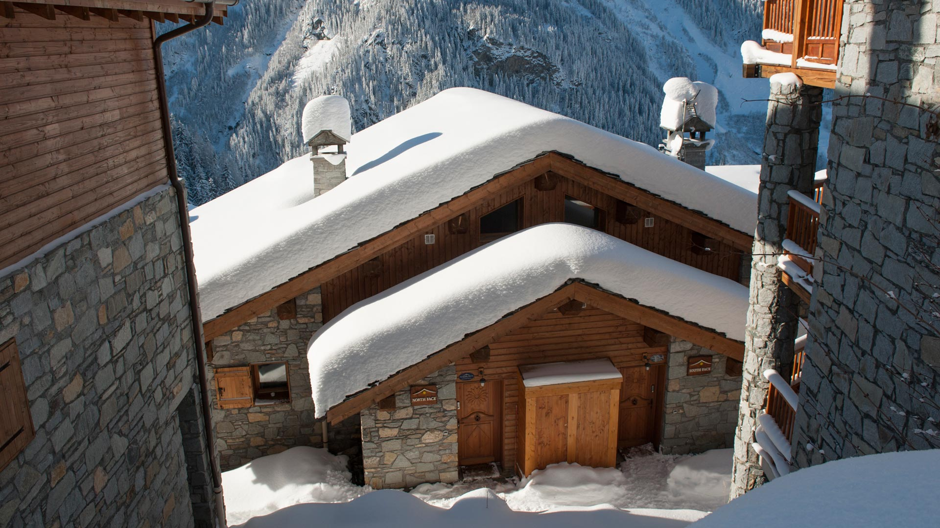 The South Face Chalet in Ste Foy