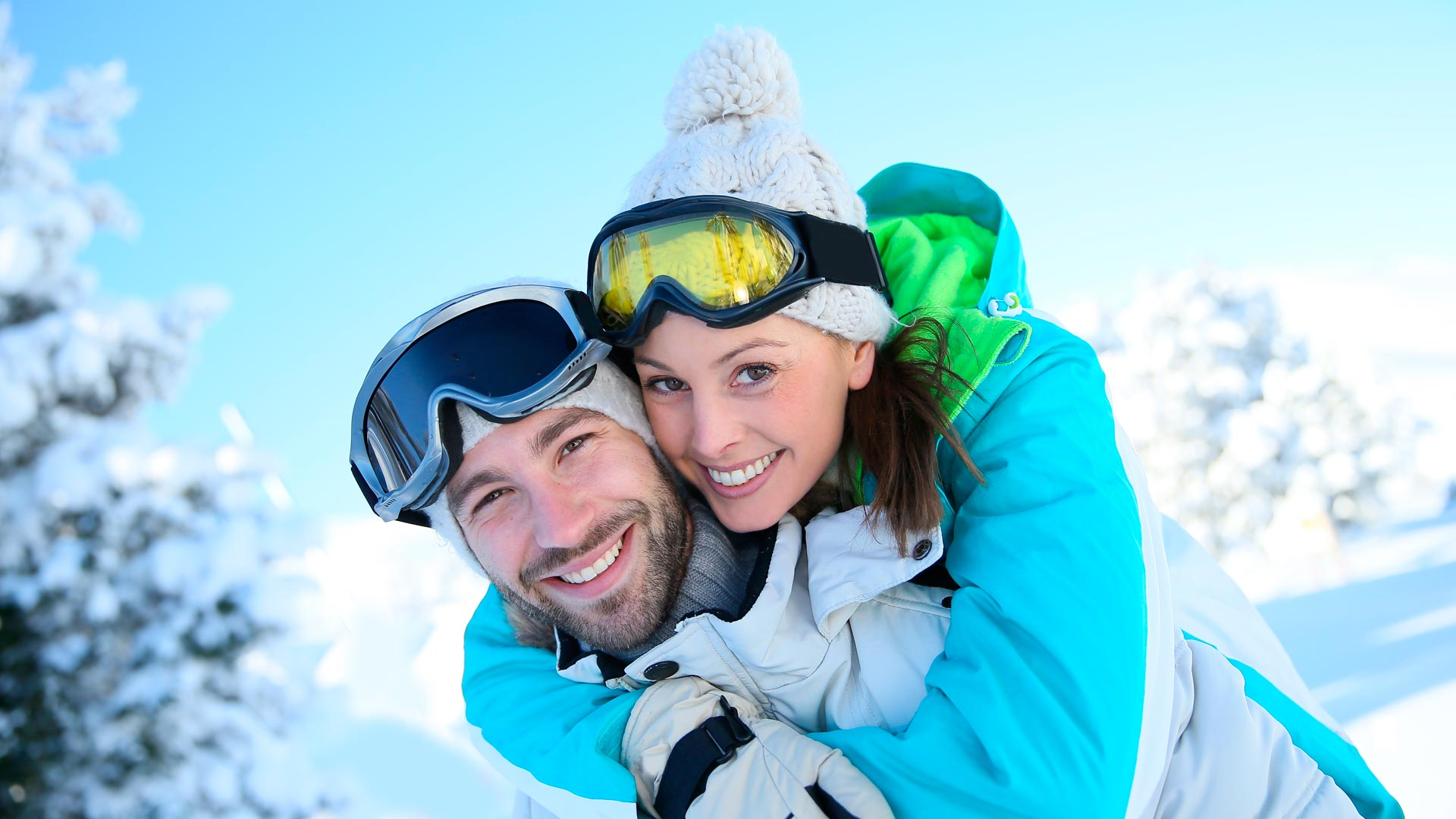 Couples skiing holidays in Sainte Foy