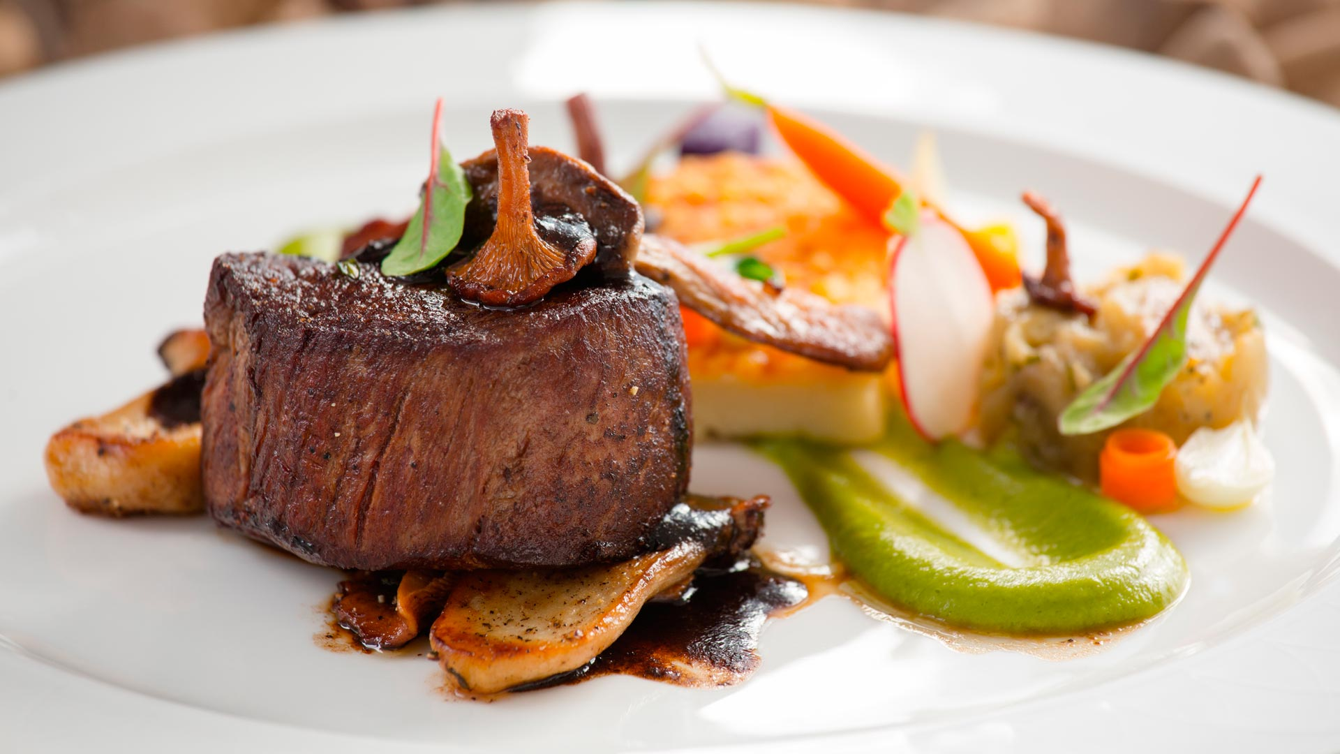 Restaurant quality food in the comfort of your chalet.