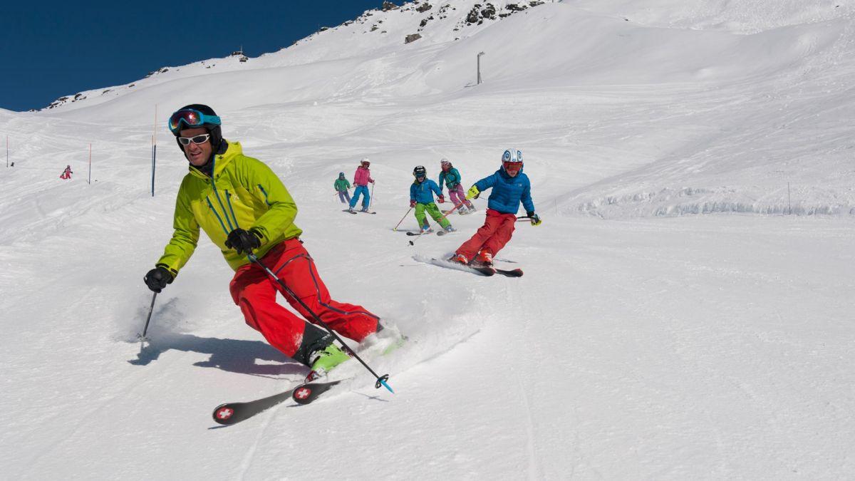 Skiing in Sainte Foy Tarentaise