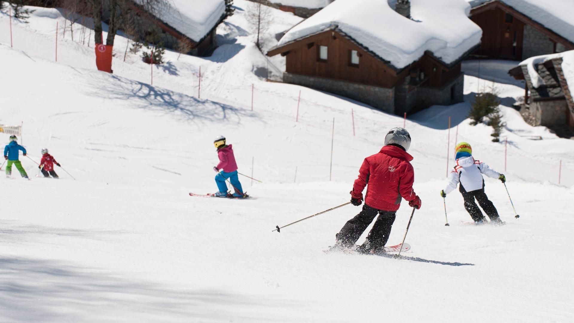 Ski schools for children, Sainte Foy