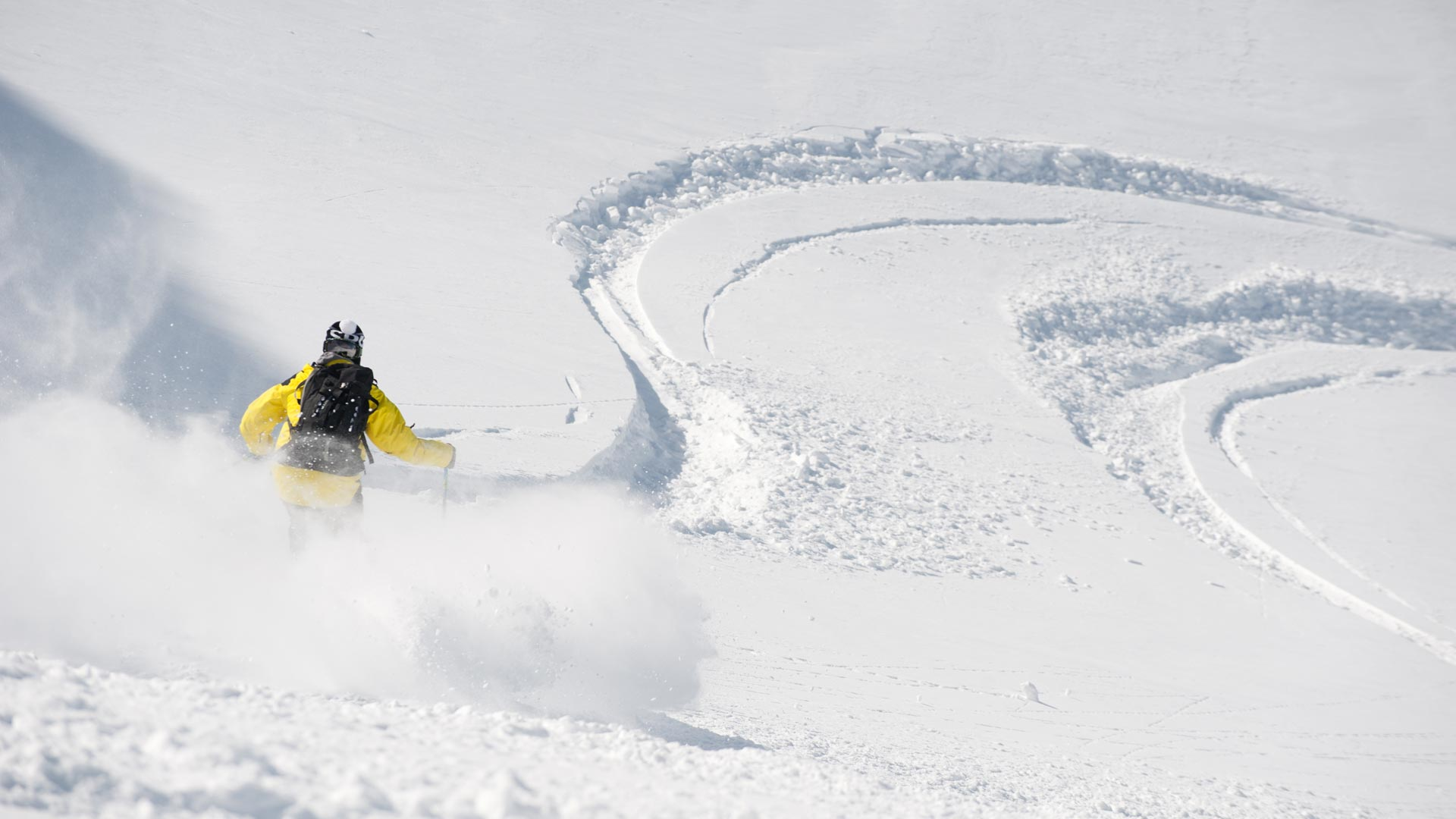 Off-piste skiing in Sainte Foy is world-renowned