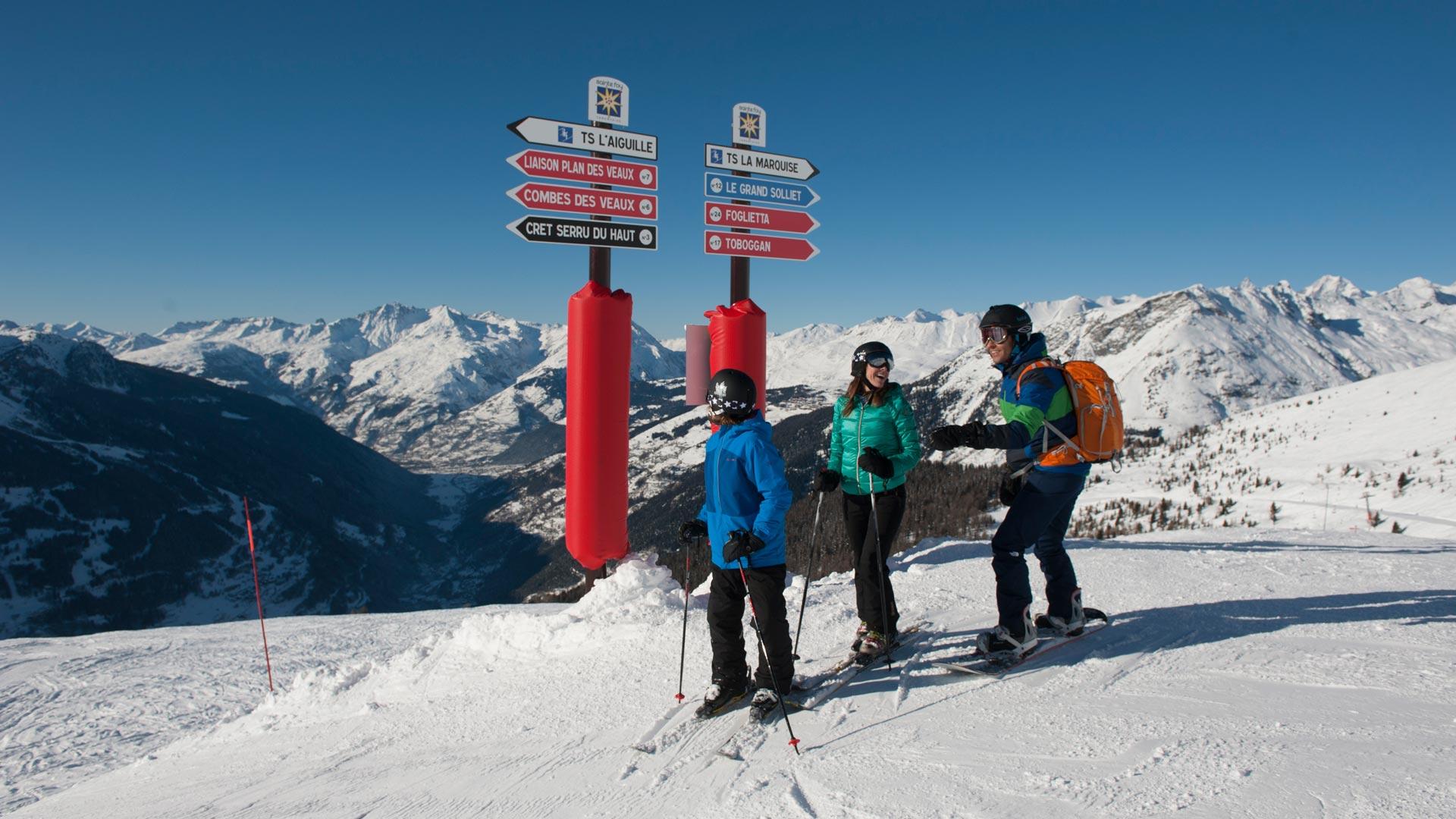 Ski Holiday in Sainte Foy Tarentaise, Premiere Neige
