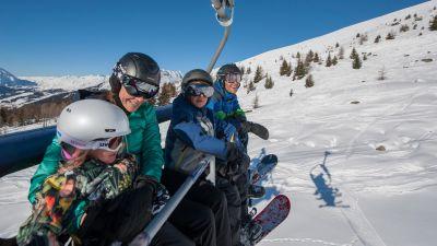 Family Ski Holidays in Sainte Foy