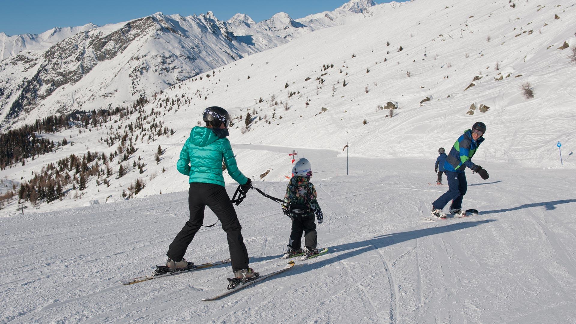 Family Ski Holiday in Sainte Foy