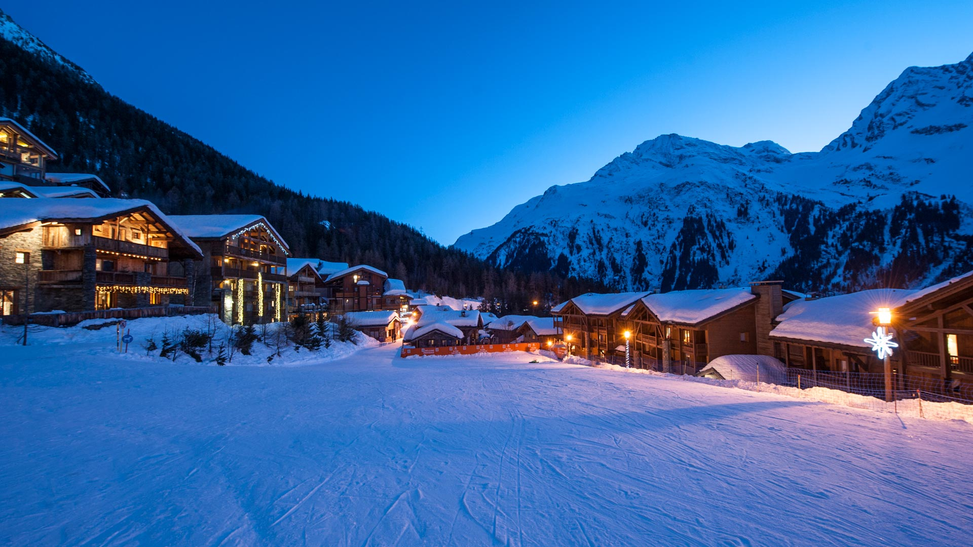 Sainte Foy in twilight