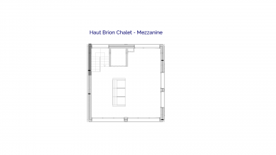 Haut Brion luxury self catered chalet in Sainte Foy, 4th floor plans