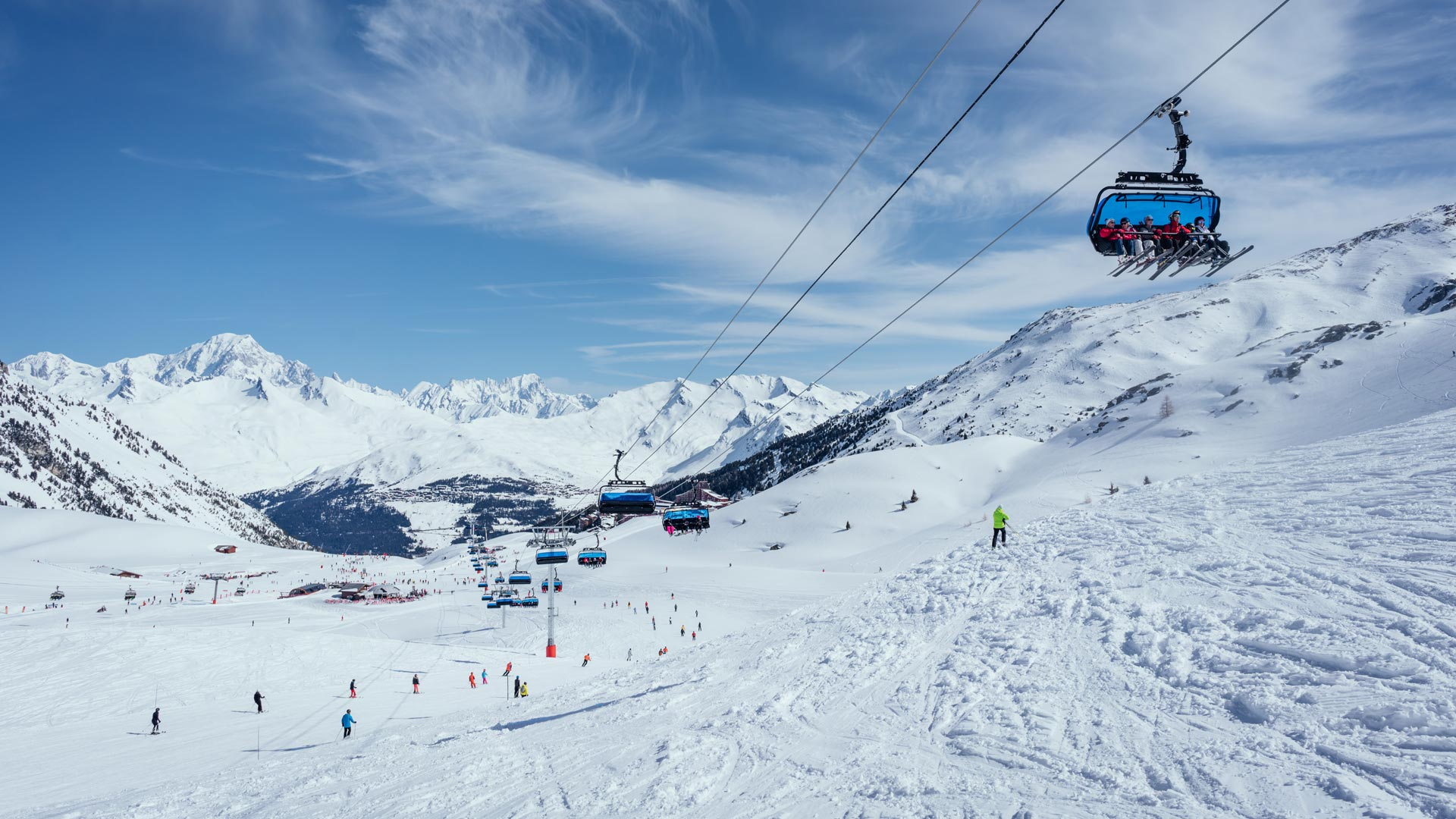 Skiing in Les Arcs with Ski Safari