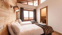 Bedroom 3 - Estournel Luxury Self catered chalet in Sainte Foy