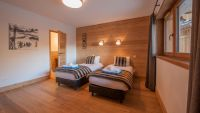 Bedroom 1 - Haut Brion Luxury Self Catered Chalet in Sainte Foy