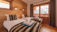 Bedroom 4 - Haut Brion Luxury Self Catered Chalet in Sainte Foy