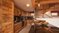 Kitchen - Rayas Luxury Self catered chalet in Sainte Foy