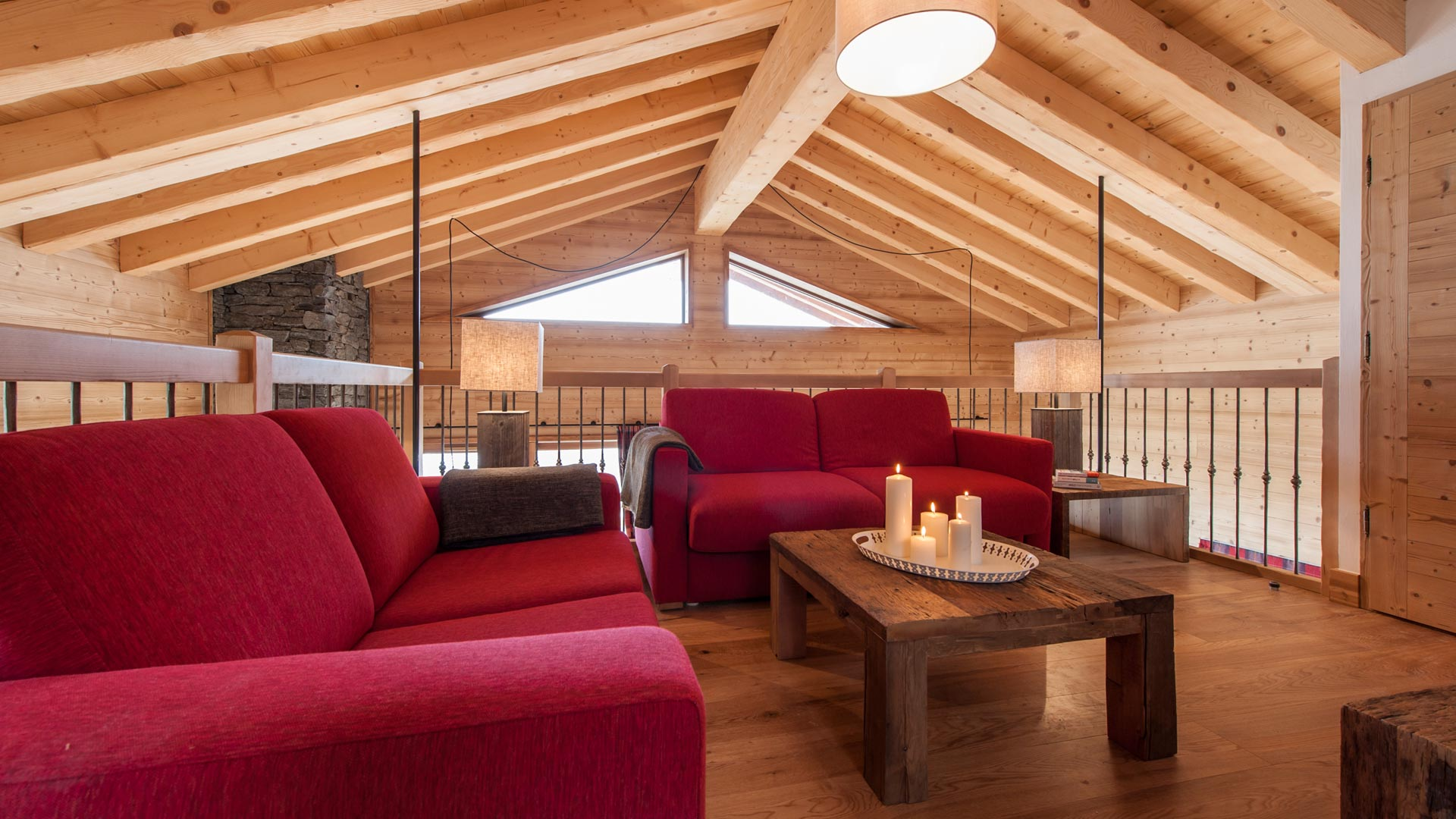 mezzanine - Rayas Luxury Self catered chalet in Sainte Foy