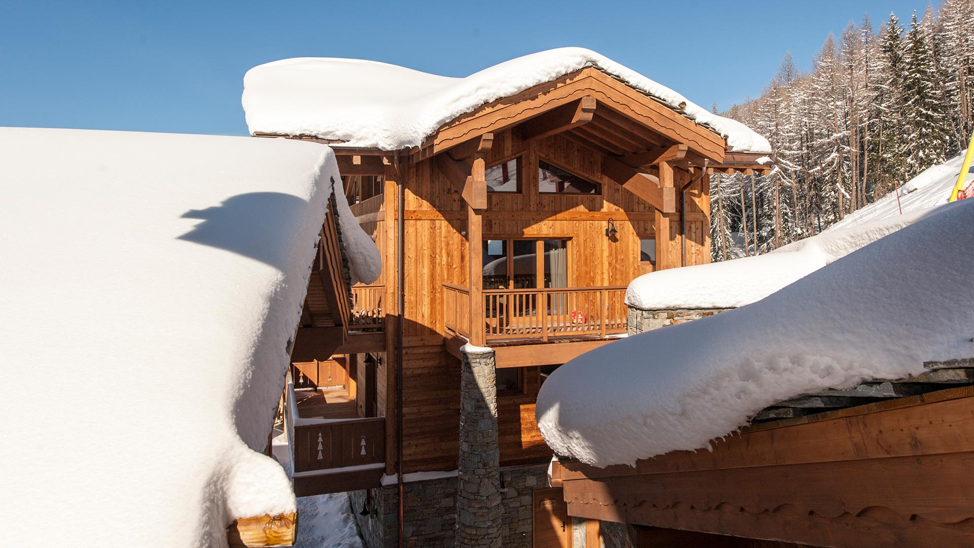Luxury self-catered chalet Latour in Sainte Foy