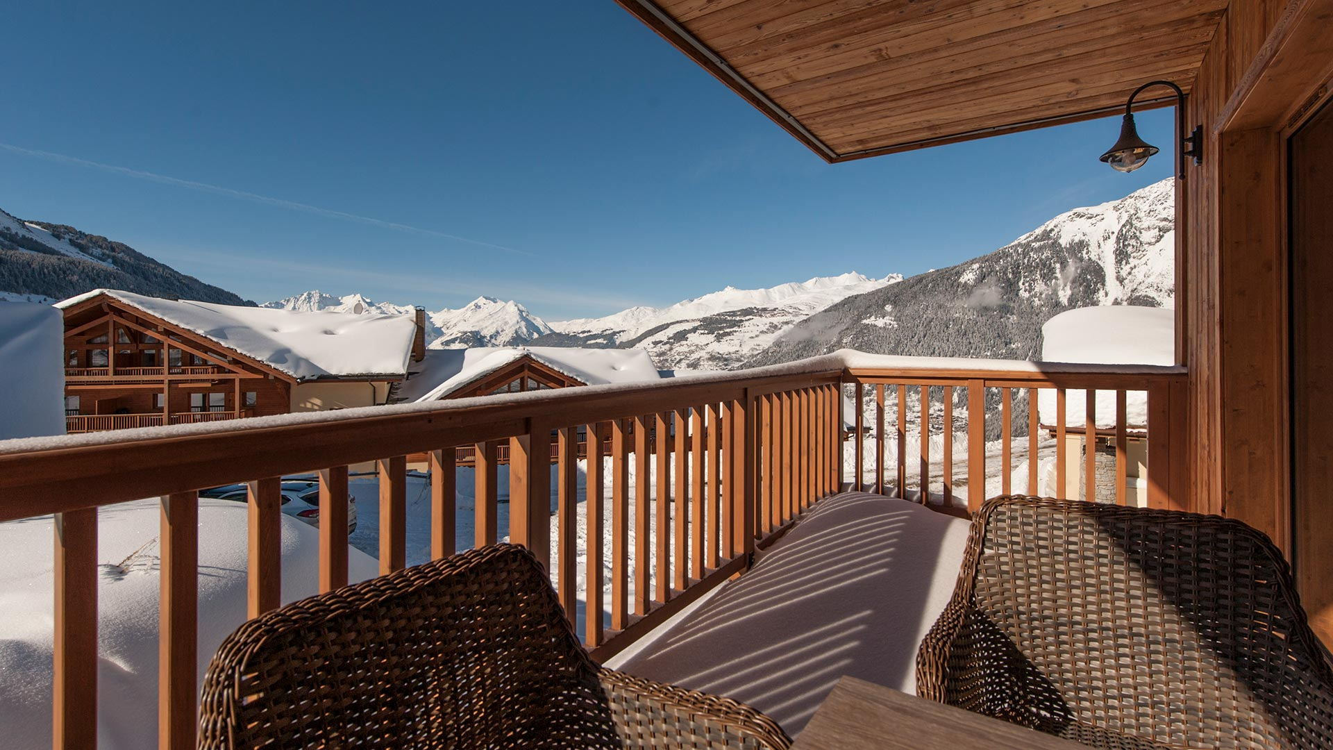 Luxury Self Catered Chalet Estournel in Sainte Foy