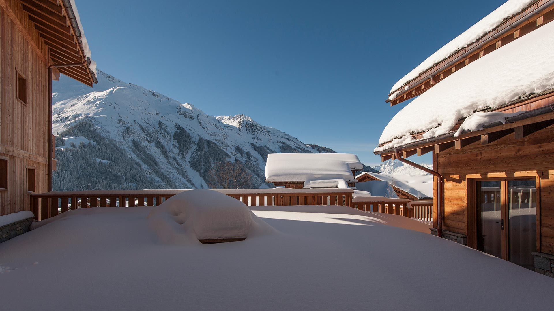 Luxury self-catered chalet Haut Brion in Sainte Foy