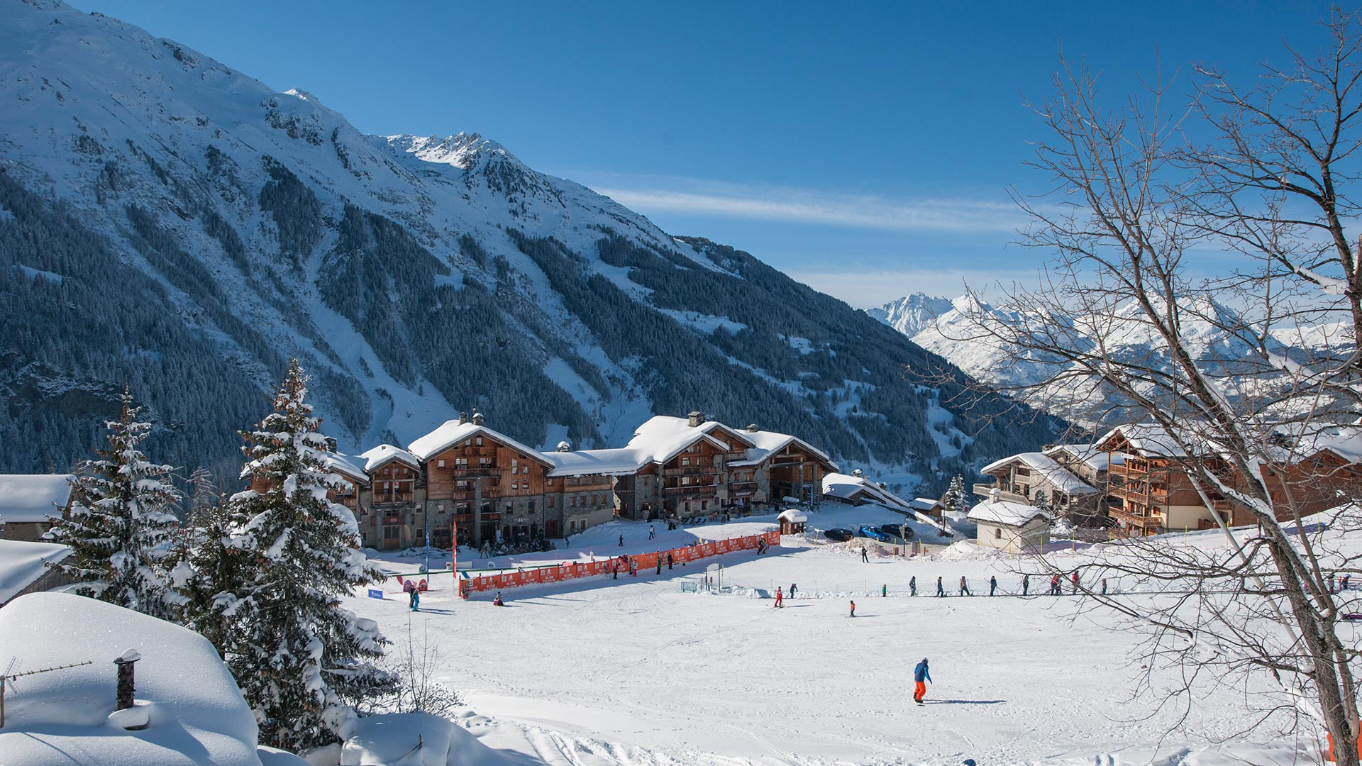 Views from the lower slopes of Sainte Foy