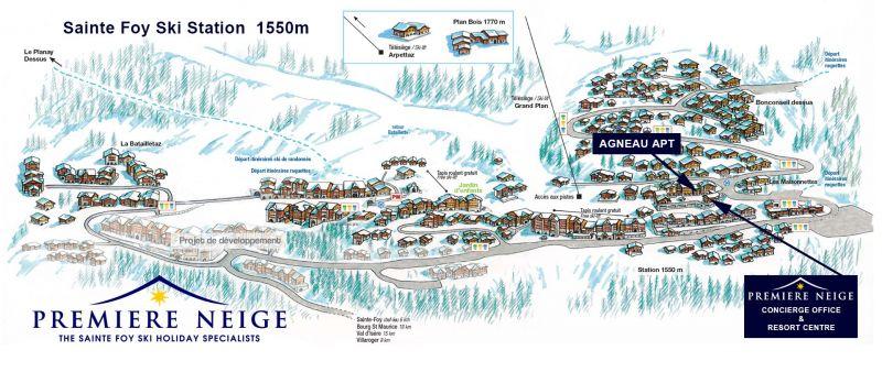 Premiere Neige Ski Holiday Apt Agneau
