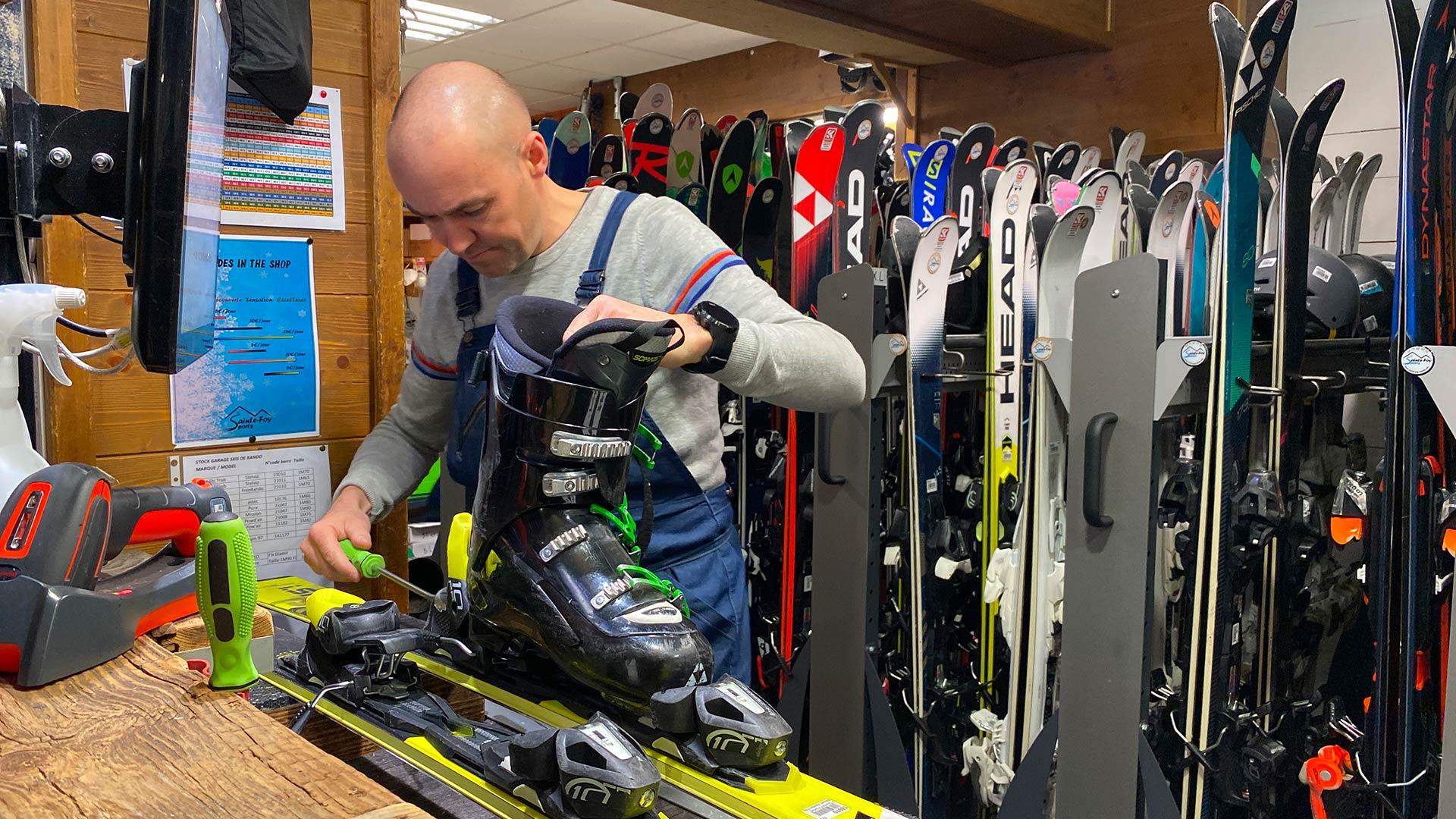 Sainte Foy Sports Ski Shop